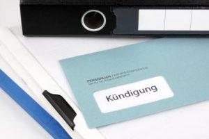 Außerordentliche Kündigung Versicherung Berlin