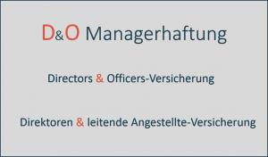D und O Managerhaftung Versicherung Berlin