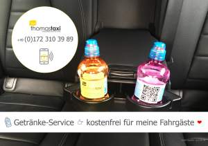 Flughafentransfer Berlin ✔ kostenfreie Getränke ✔ thomas taxi berlin ✔