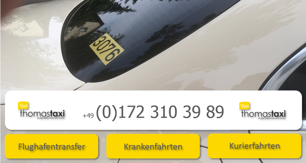 thomas taxi Berlin