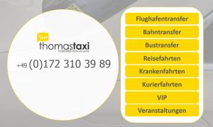 thomas taxi ✔ Berlin ✔ Dienstleistungsübersicht ✔